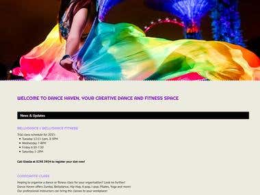 Dance Haven offers various classes and services.