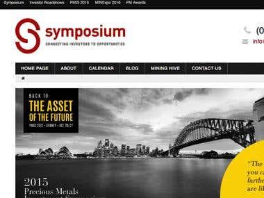 Symposium - Australia Gold