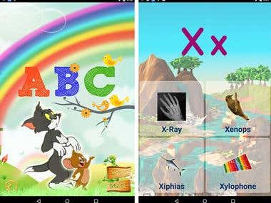 ABC Learning Kids - Android App