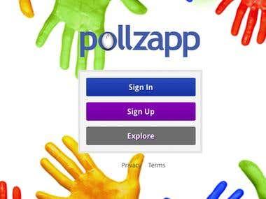 Pollzapp - Resposive Design