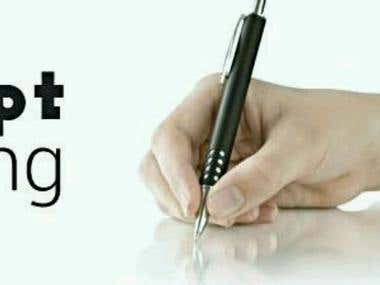 Professional Telemarketing Script writing in English