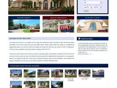Wordpress based website