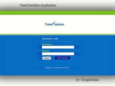 Travel Solution - Ability to register new flights.