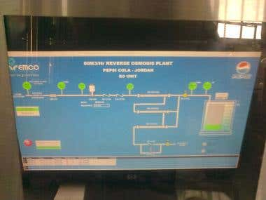 SCADA project under siemens S7-300