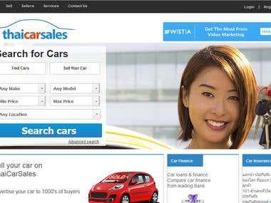 Car dealers Website