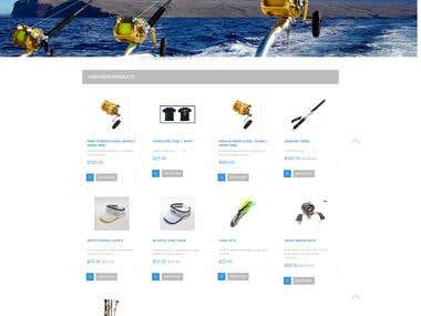 opencart website - www.sportfishingshop.com.au
