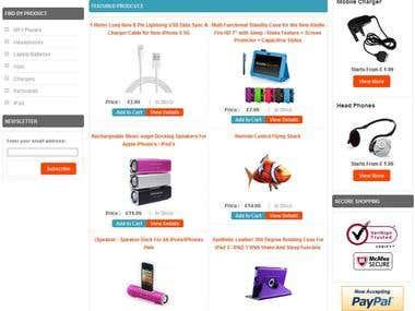 Gadget Inbox amazing Ecommerce site