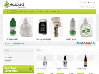 web site for Croatian company