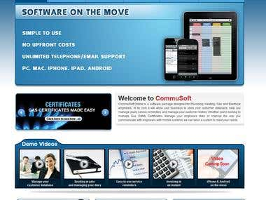 Commusoft Website
