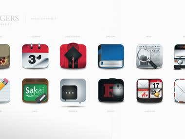 Mobile App Project Icons