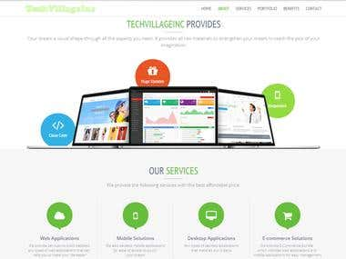 Website of TechVillageInc