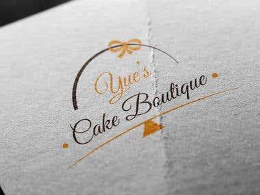 Cake store Identity