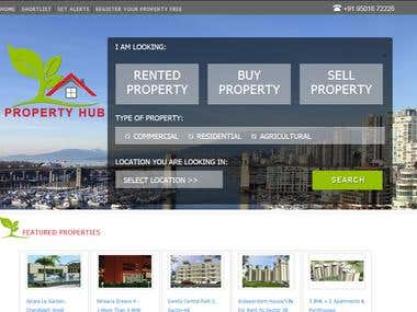 Real Estate Website with  CMS and Paypal Subscription