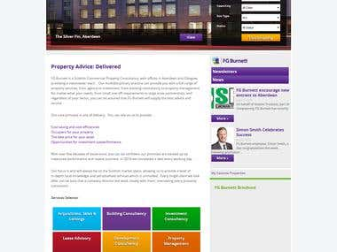 Wordpress Property Listing Website.