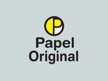 Logo: Papel Original Stationary store