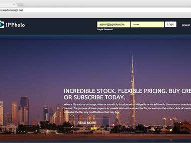 IPPhoto Web Application