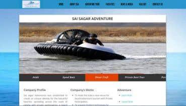 Website For Beach/Adventure Tourism