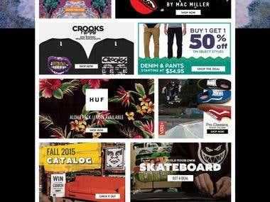 Zumiez Magento Online Shopping Cart