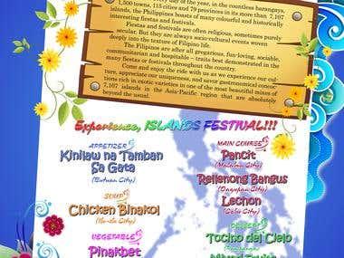 Festival Menu