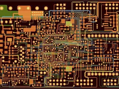 PCB Design To Reduce The Board Space (EAGLE)
