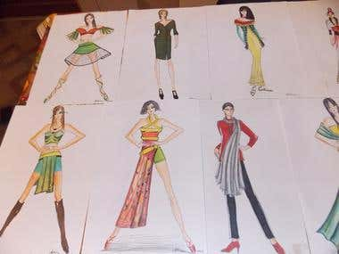 Fashion creations