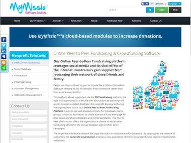MyMissio Charity Management