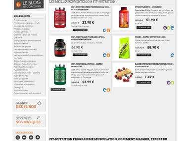 E-commerce (wordpress)