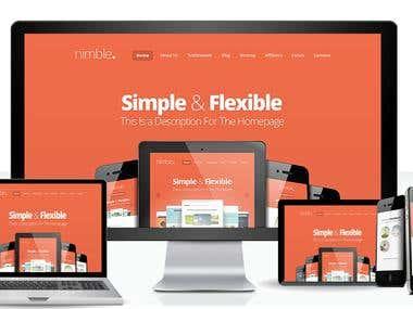 Wordpress Elegant Theme