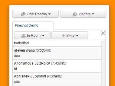 Extensible Chat Room