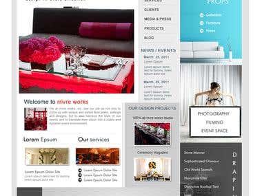 Event Company Website