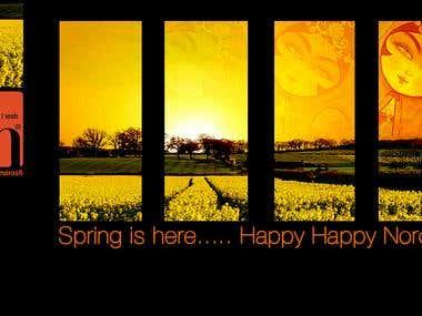 Spring is here... Happy Happy Norouz