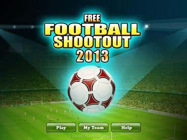 Free Football Shootout - Game screens