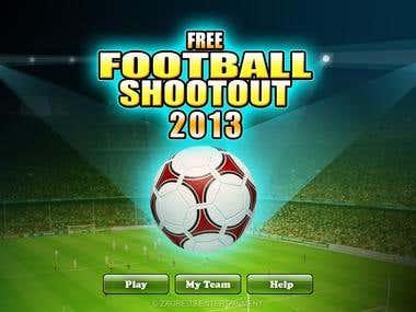 Free Football Shootout - Game screens
