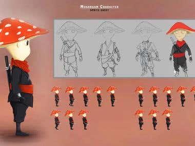Spirite Sheet Design - 2D Animation