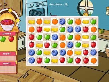 Game Screen / Packaging design