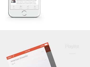 iOS Social Network