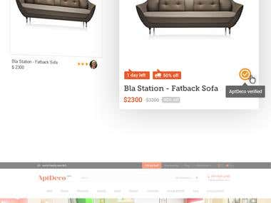 Furniture Marketplace Redesign
