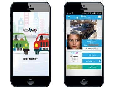 CarBeep Android and iPhone App