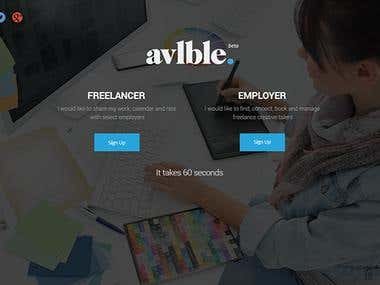 Freelance website