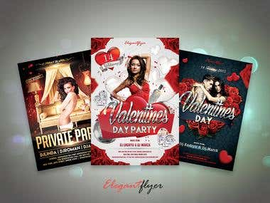 Event Flyer Template Design in PSD