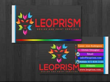 Business card For leop..
