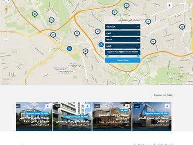 Masr On Map 2015 (Real estates trading website)