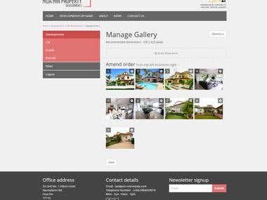 Bespoke Property Website