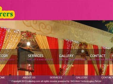Catering/ Event/ Wedding Planer Design