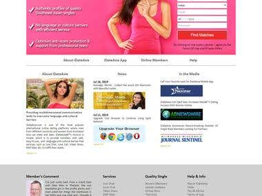 Landing Page Dating Site