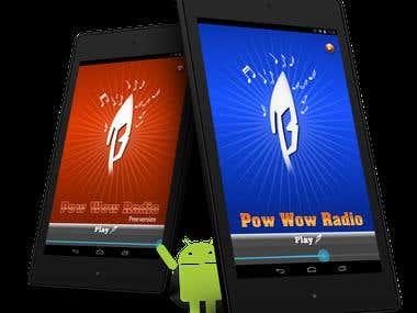 PowWow Radio - Android App