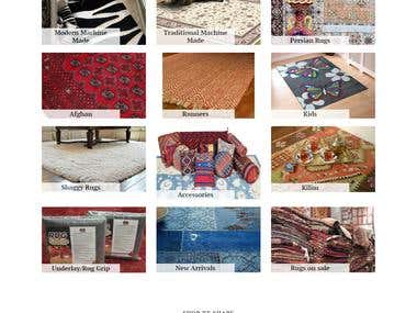 Shopify store.