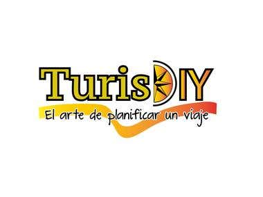 Design logo turist