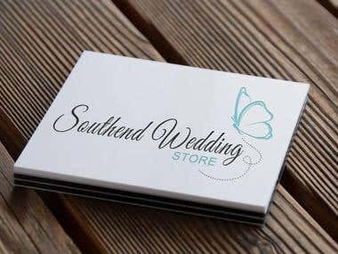 Logo for Southend Wedding Store