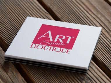 Logo for Art Square Boutique
